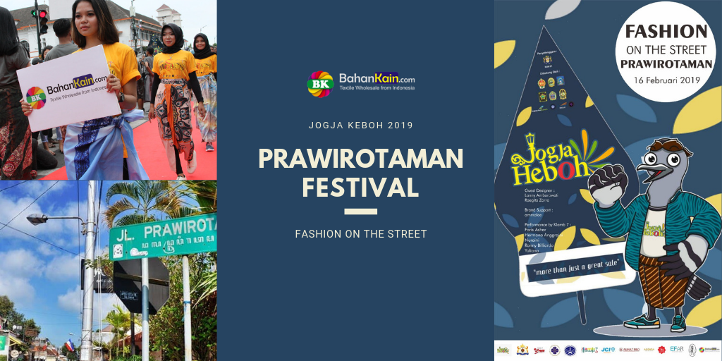 Prawirotaman Festival Gelar Fashion on the Street