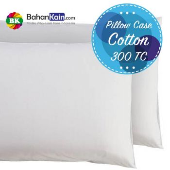 Pillow Case Hotel Cotton 300 Thread Count