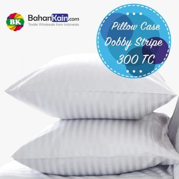 Pillow Case Hotel Dobby Cotton Stripe 300 TC