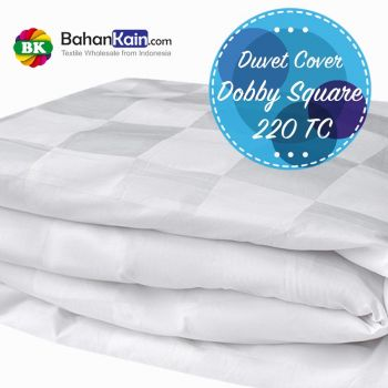 Duvet Cover Cotton Dobby Square 220 TC