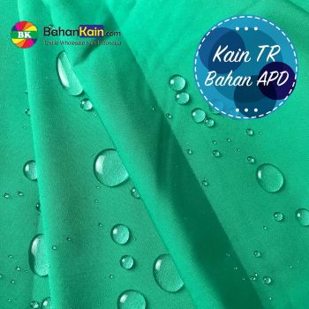 Kain TR Water Repellent & Anti Bacterial ( Bahan Kain APD)