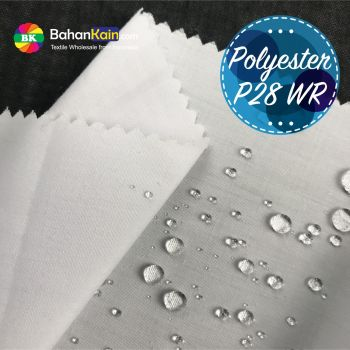 Kain 100% Polyester P28 Water Repellent Lebar 150 CM
