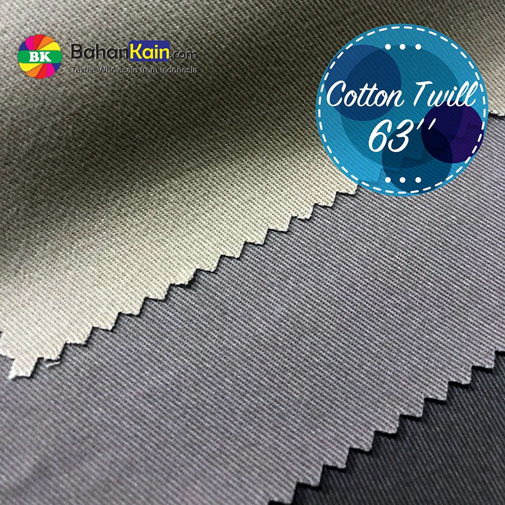 Bahan Celana Chinos Premium Cotton Twill