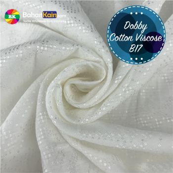 Kain Dobby Cotton Viscose B17