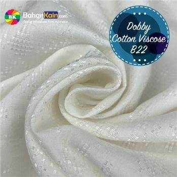 Kain Dobby Cotton Viscose B22